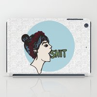 shit iPad Cases featuring Shit by Gaab D'Amato