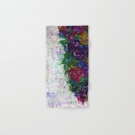 Botanical - Flowers Hand & Bath Towel