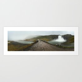 Road to Iceland Art Print