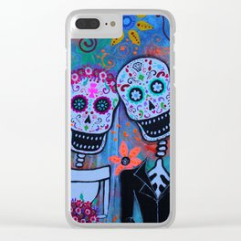 Til Death Do Us Part Clear iPhone Case