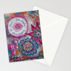Be Brave. Love Deeply. Shine Brightly. Stationery Cards