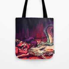 Bleed Tote Bag