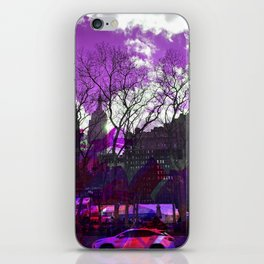 Bryant Purple iPhone Skin