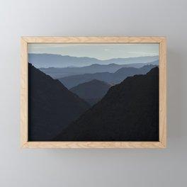 Ridgeline After Ridgeline Framed Mini Art Print