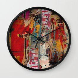 Trace of you Wall Clock