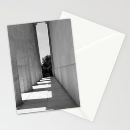 Shadows of Lincoln Stationery Cards