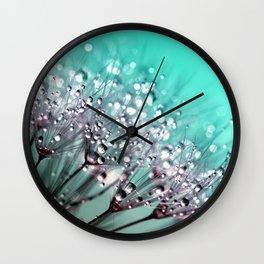 Dewdrops Wall Clock