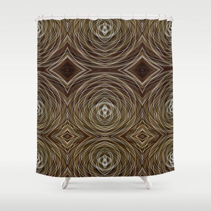 Coffee Conversations Shower Curtain
