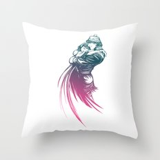 Frozen Fantasy 2 Throw Pillow