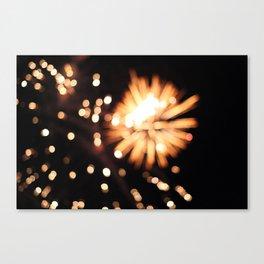 Prime Fireworks 1 Canvas Print