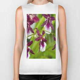 Oncidium Orchids Biker Tank