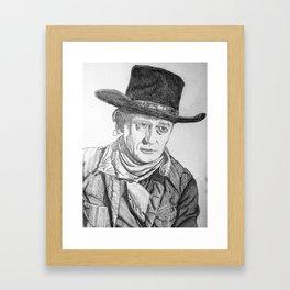 """""""The Duke"""" Framed Art Print"""