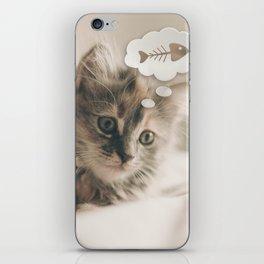 Dreaming Cat iPhone Skin