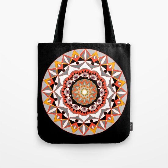 My Solar Plexus Mandhala | Secret Geometry | Energy Symbols Tote Bag