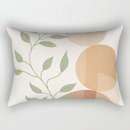 Abstract Rock Geometry 19 Rectangular Pillow