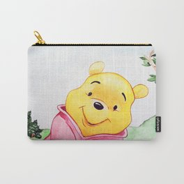 Winnie the Pooh, watercolor Carry-All Pouch
