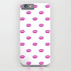 Pink lipstick iPhone 6s Slim Case