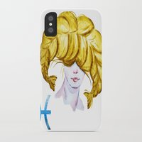 pisces iPhone & iPod Cases featuring Pisces by Aloke Design