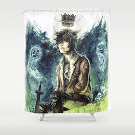 Nico Di Angelo - Son Of Hades Shower Curtain