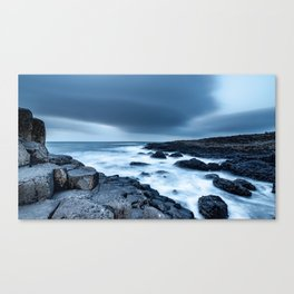 Giant's Causeway in april Canvas Print
