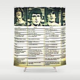 You Really Got Kinks Shower Curtain