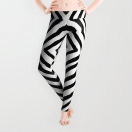 Angled Stripes Leggings