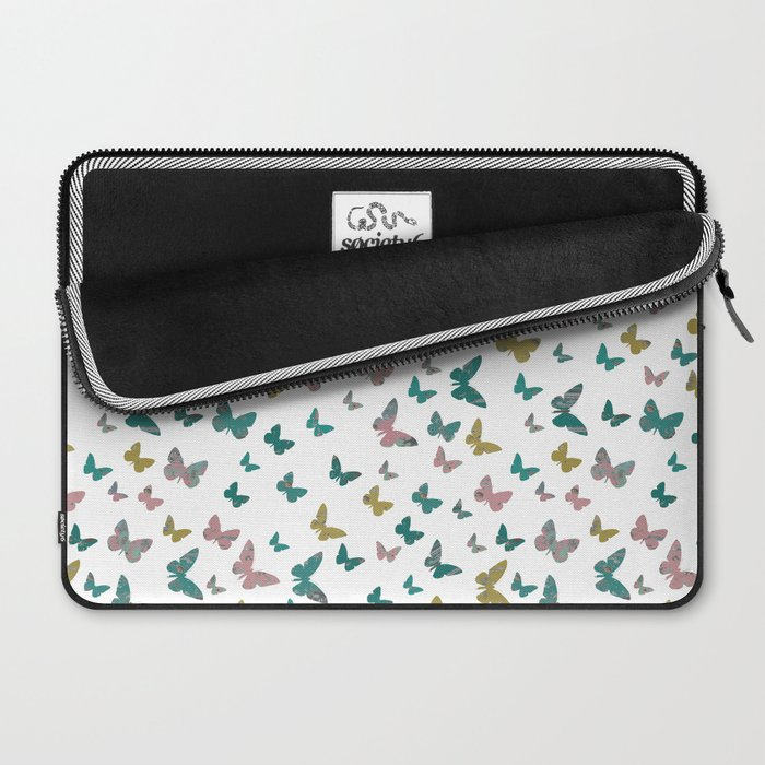 butterflies_pink Laptop Sleeve