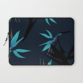 Fall print in navy and bright blue (also available in forest green and mustard) Laptop Sleeve