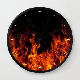 Cinematic - Flame Art Wall Clock