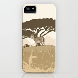 African Animals - African Grasslands iPhone Case
