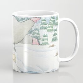 Figure skating polar bears Coffee Mug