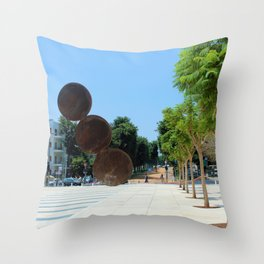 Tel Aviv photo - Habima Square - Israel Throw Pillow