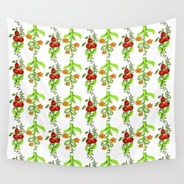 bright trees and fruits Wall Tapestry