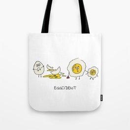 Eggcident Tote Bag