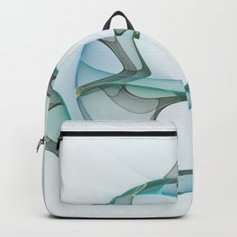 Minimalist Abstract, Fractals Art Backpack