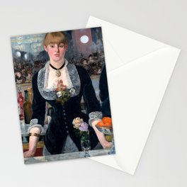 "Édouard Manet ""A Bar at the Folies-Bergère"" Stationery Cards"