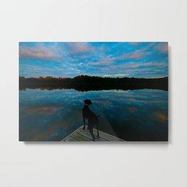 Lake Seven Metal Print
