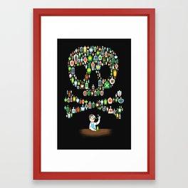 What's your poison? Framed Art Print