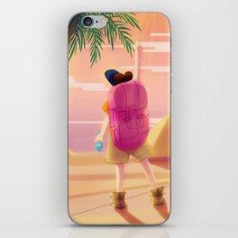 Adevnture Girl iPhone Skin