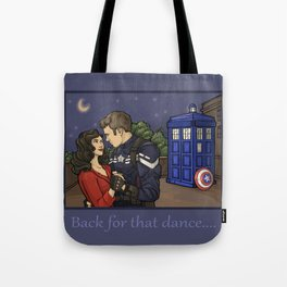 Back for that Dance Tote Bag