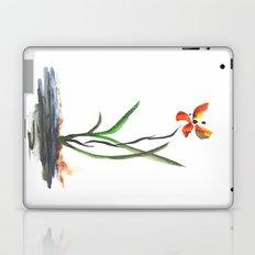 Butterfly Orchid Laptop & iPad Skin