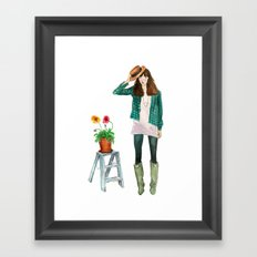 Layla Framed Art Print
