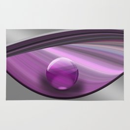 Lilac Ball  Rug