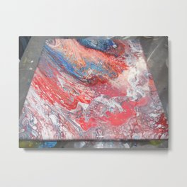 red white and blue 1 Metal Print