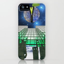 HIGHER DIMENSION OF AWARENESS iPhone Case