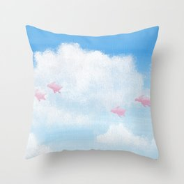 It's Time Throw Pillow
