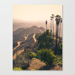 Across the Basin to Hollywood Canvas Print