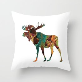 NORTH WOODS Throw Pillow