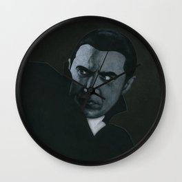 Bram Stoker's Dracula on vinyl record print Wall Clock