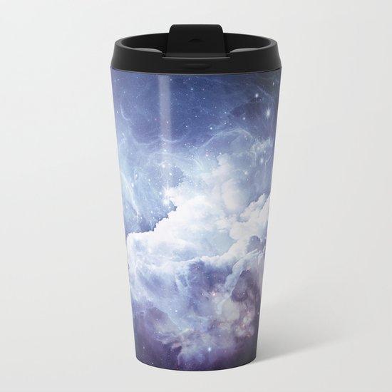 A Sky Made of Diamonds Metal Travel Mug